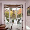 Standard Raised French Doors to Patio